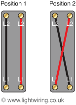 Intermediate light switch mechanism