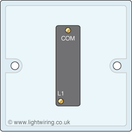 Single gang 1 way light switch | Light wiring
