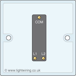 light switch light wiring L2 L3 Back Pain