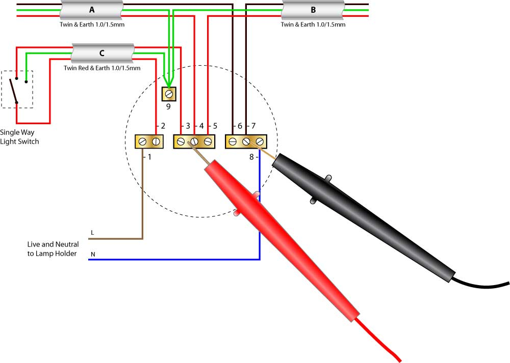 Test Light Wiring Diagram - Wiring Diagram Shw on