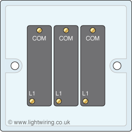 3 gang 1 way light switch | Light wiring  Gang Way Light Switch Wiring Diagram on