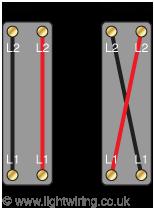 Intermediate light switch mechanism